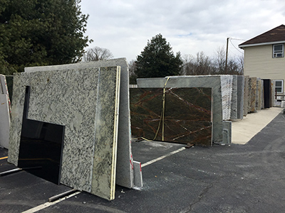 Stone Slabs Samples Stock Richmond Virginia