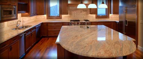 Granite Kitchen Island Countertops Fredericksburg Virginia