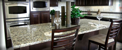 Superbe Granite Kitchen Countertops Fredericksburg Va